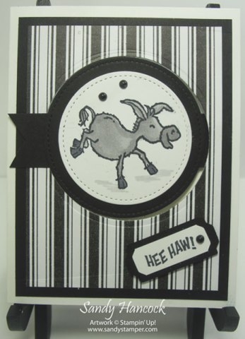 Darling Donkeys- Flip Card