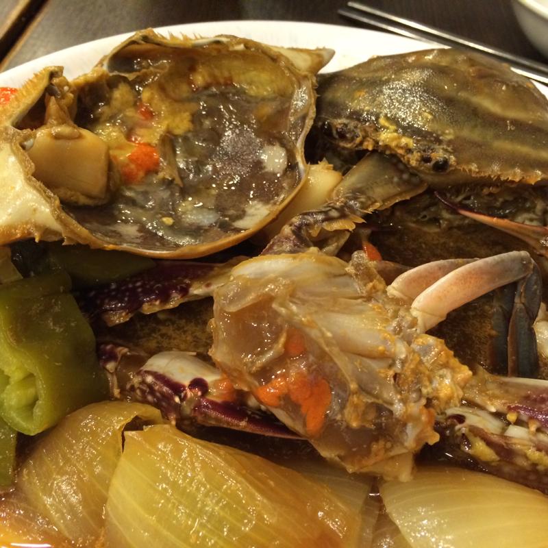 初試醬油蟹 @醬缸韓國料理 - Sandy的個人口味