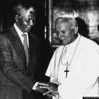 Pope Francis tribute to Nelson Mandela