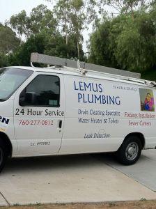 lemus plumbing van