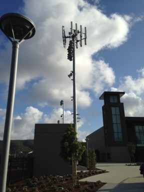 San Marcos High Cell Tower