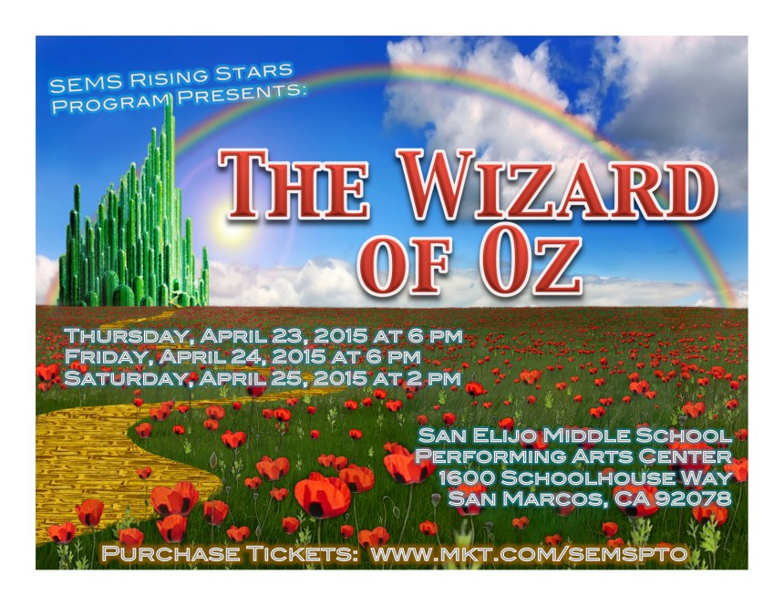 The Wizard of Oz is Coming to San Elijo Hills