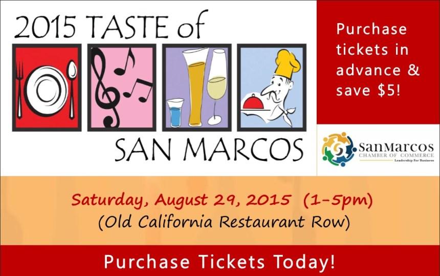 Taste of San Marcos 2015