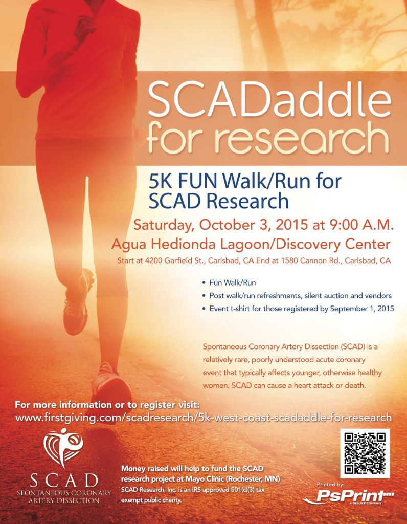 SCADaddle 5k event poster copy