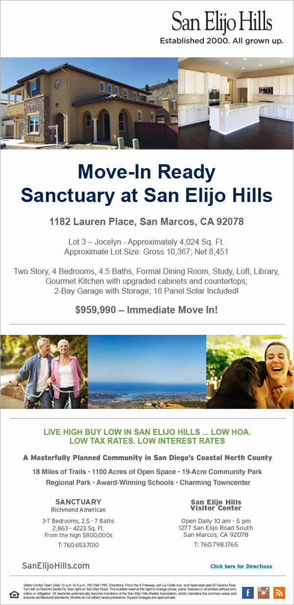 Sanctuary at San Elijo Hills