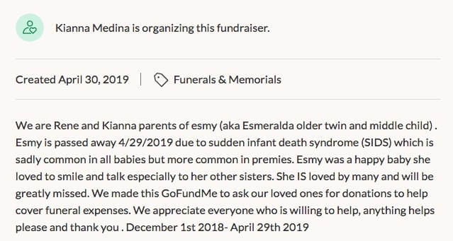 Young Mother Caught Creating GoFundMe After Twin Infant Dies, Is Charged With Murder