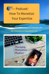 Monetize Business Expertise/podcast/sanespaces.com