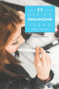 25 office organizing ideas