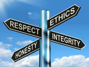 Values Ethics Roadsign/sanespaces.com