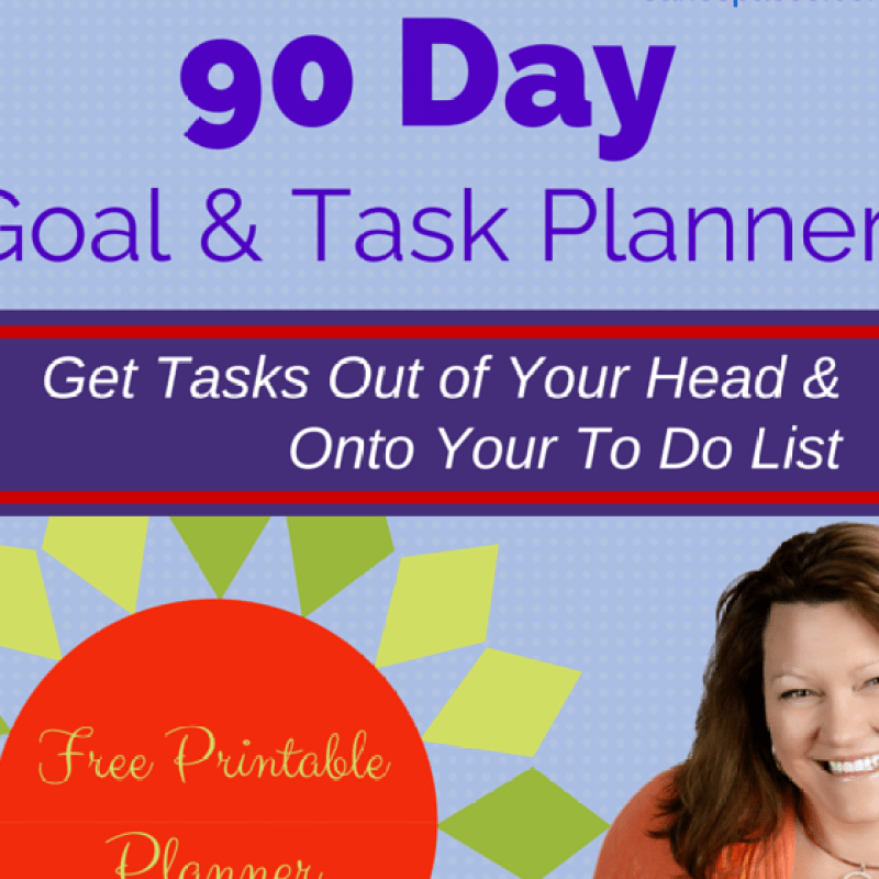 Free quarterly goal planner