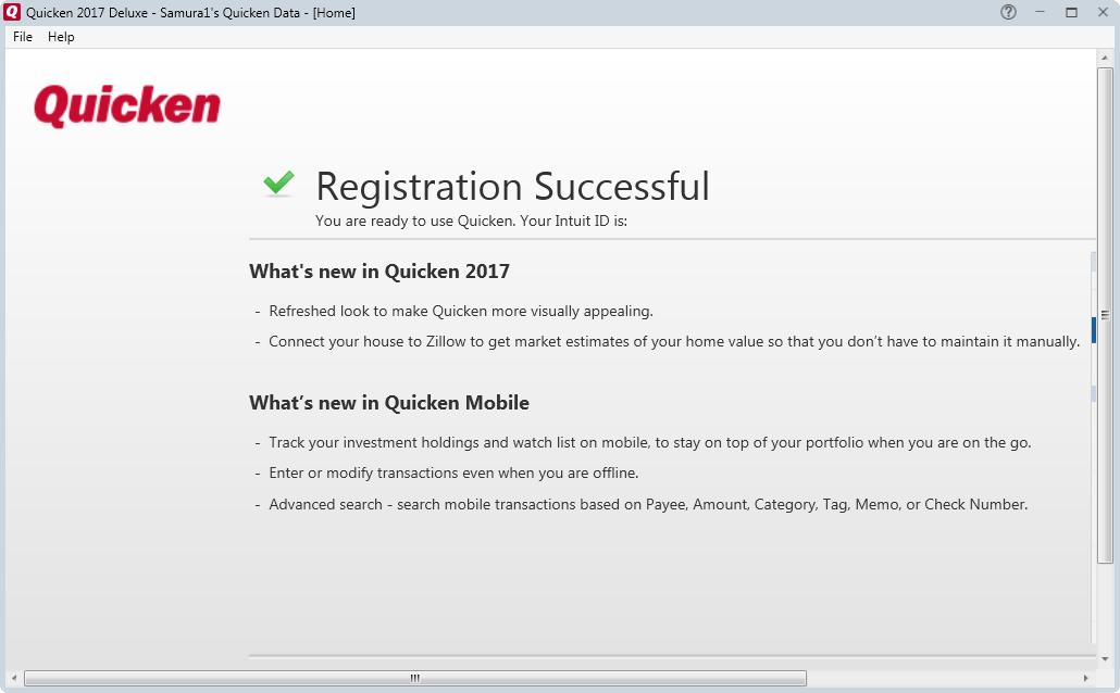 Download Intuit Quicken 2017 Deluxe 26.1.1.5 R1 - SoftArchive