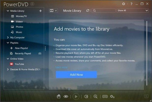 CyberLink PowerDVD Ultra 17.0.2101.62 Full + Keygen โปรแกรมเล่นวิดีโอ HD Utra ตัวเต็มฟรี