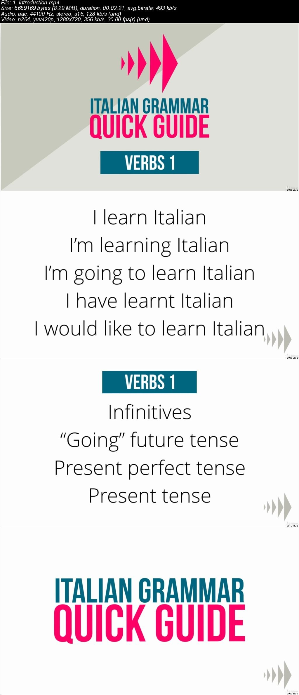 Download Italian Grammar