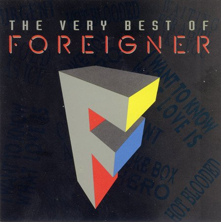 Foreigner – The Very Best Of Foreigner (1992)
