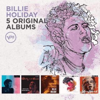 Billie Holiday – 5 Original Albums (2016)