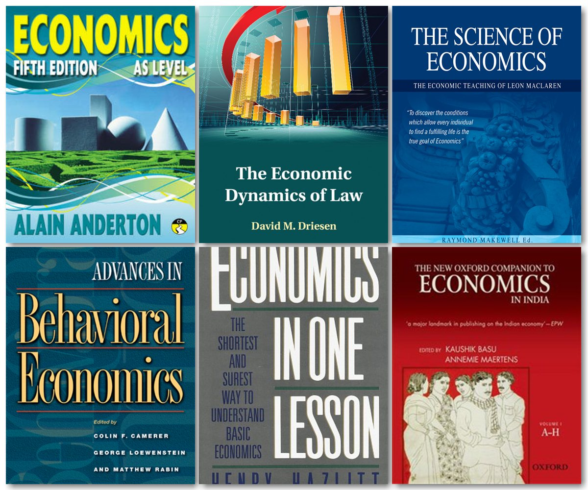 Download 400+ Economics Books Collection Softarchive