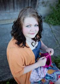 Knitting for Gardasil Awareness