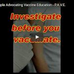 People Advocating Vaccine Education P.A.V.E.
