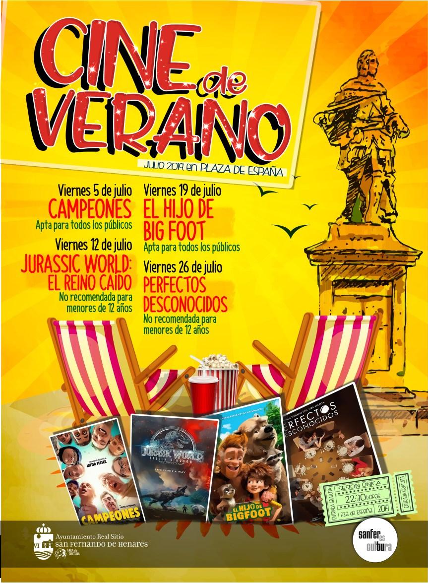 Viernes de cine en San Fernando