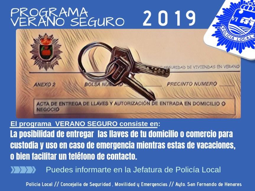 Continúa el programa Verano Seguro de la Policía Local