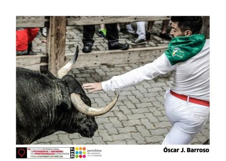 Óscar J. Barroso - Bajada callejón