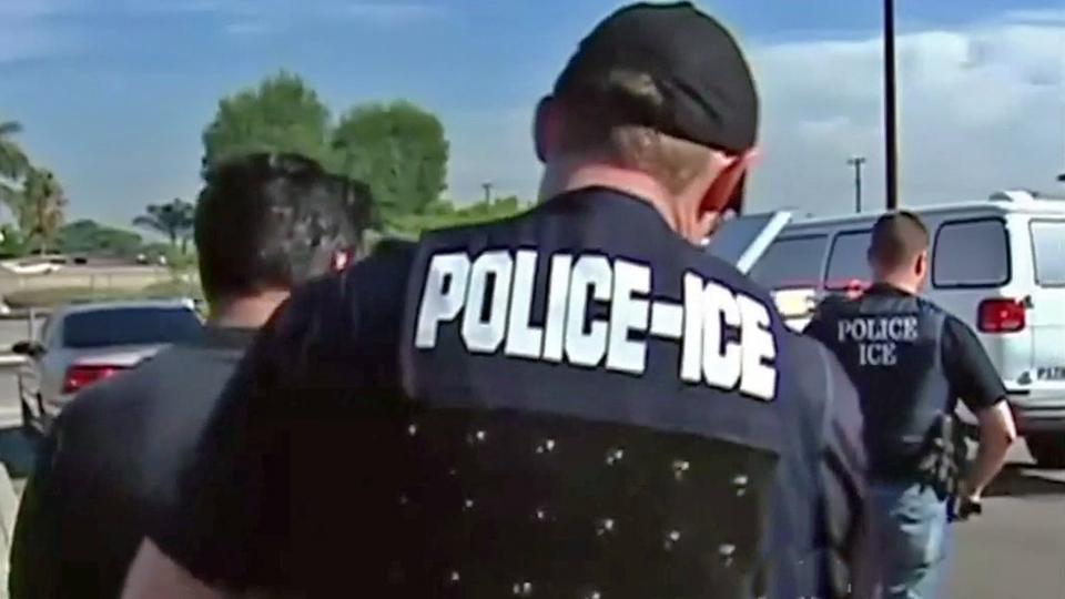 Justice Dept Reviewing Schaaf Ice Raid Warning Cbs San