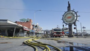 Fisherman S Wharf Warehouse Fire Destroyed Fishing Traps