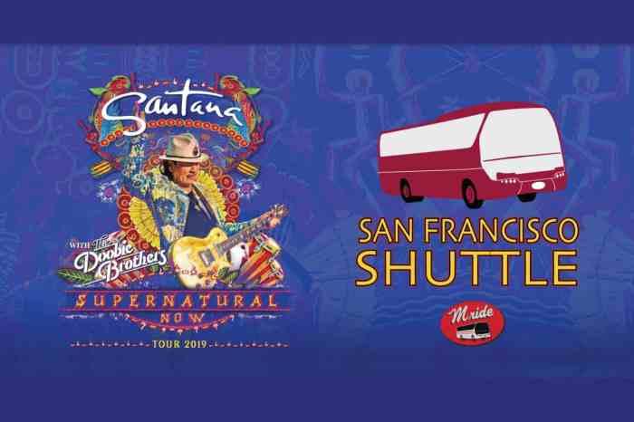 Shuttle Bus to Santana at Shoreline Amphitheater