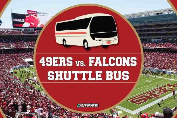 Niners vs. Falcons Shuttle Bus to Levi's Stadium
