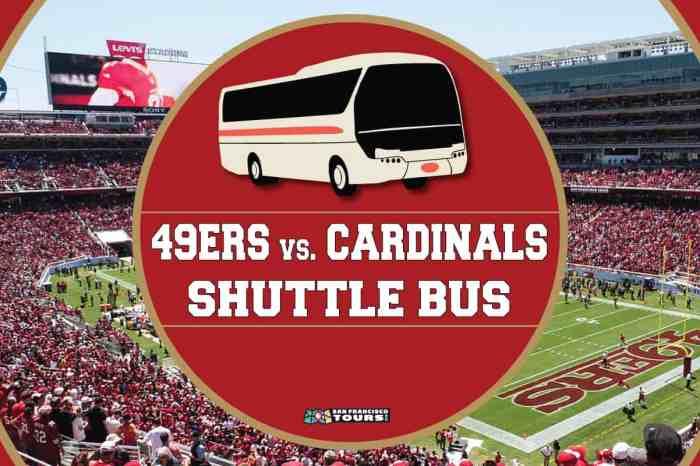 Levi's Stadium Shuttle Bus: 49ers vs. Cardinals