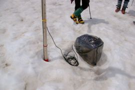 積雪量記録装置