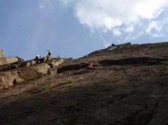 「3ルート」登攀中