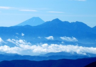 51.常に富士山を見ることができた。