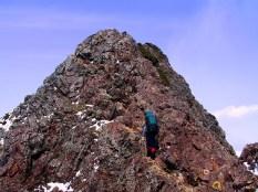 29 岩稜を越える