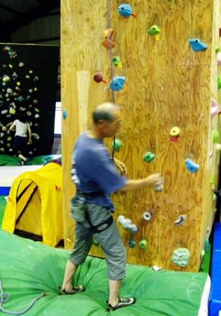 岩名人さんの華麗な登りは後ほど動画で。