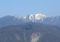 能郷白山の眺め。