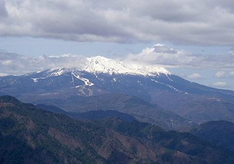 2010年4月10日 風越山(1698.5m)
