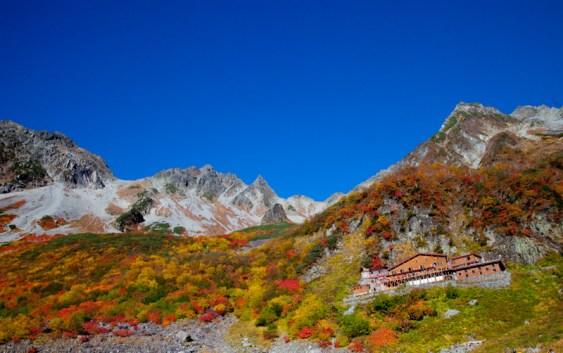2010年10月9日 自主山行 北アルプス涸沢 パノラマコース