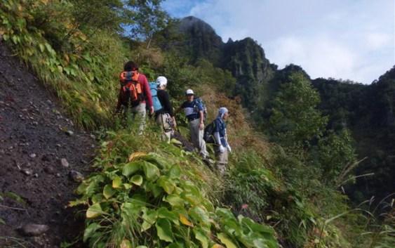 2010年9月25日 戸隠、西岳(2053M)