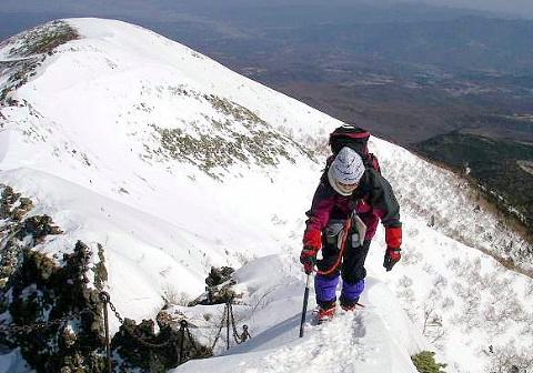 2009年3月20日 自主山行  硫黄岳~横岳(南八ヶ岳)
