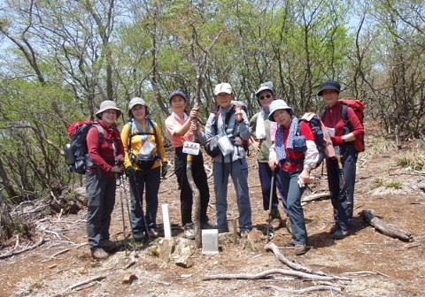 2009年5月9日 自主山行 T字尾根~土倉岳(鈴鹿)