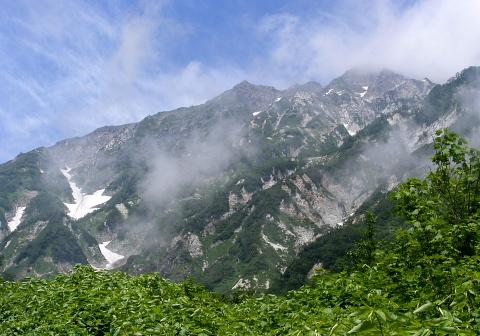 2009年7月22日 自主山行  白馬岳(北アルプス)