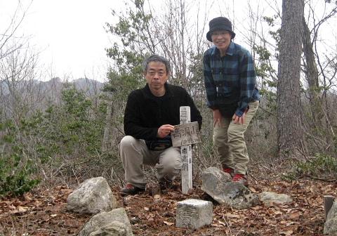 2009年4月4日 高洞山(飛騨・清見村)自主山行