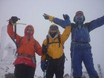 23赤岳ピークに立つことが出来ました!