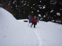 07 国見岳スキー場を真横にみながら登ります