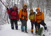 2010年12月23日 大日岳 自主山行