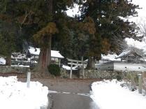 02登山口の白山神社