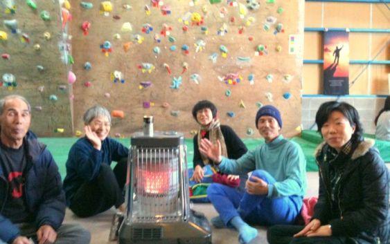2011年 1月 春日井のボルダリングジム遠征