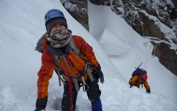 2011年2月13日 御在所3ルンゼ&アイスクライミング 自主山行
