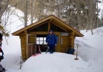 25 快適だった避難小屋